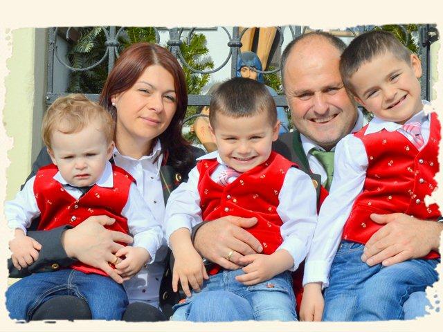 Urlaub am Bauernhof mit Familie Pirker